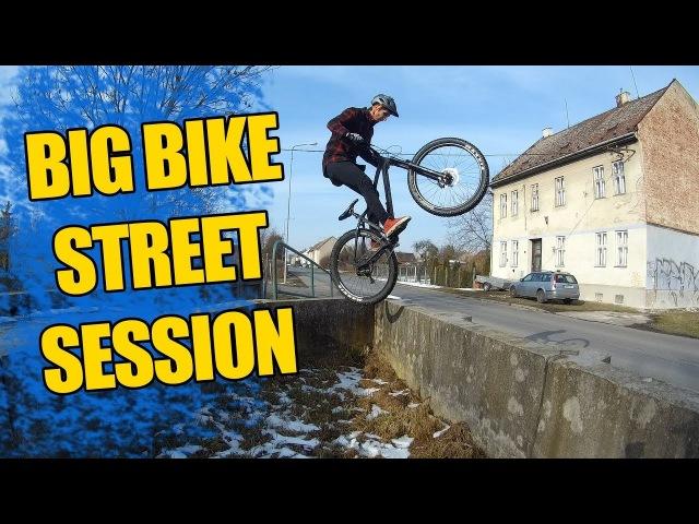 Big Bike Street Session   DMJ Vlog