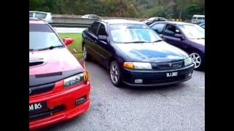 Mazda lantis, Ford lynx, Ford Talesta gathering