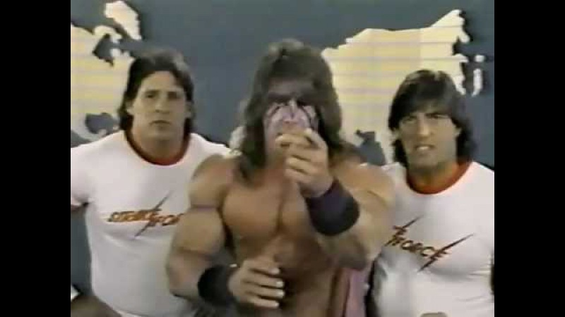 Ultimate Warrior Strike Force Promo on Demolition Fuji (05-14-1988)