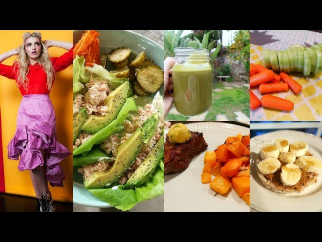 What I Eat In A Day (HEALTHY)   Rydel Lynch