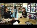 Alize Country Fashion Boucle Dokuma Tekniği ile Etol ve Atkı Yapımı Making Stole and Scarf
