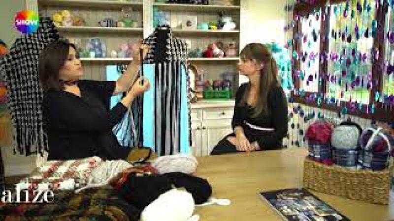 Alize Country Fashion Boucle:Dokuma Tekniği ile Etol ve Atkı Yapımı- Making Stole and Scarf