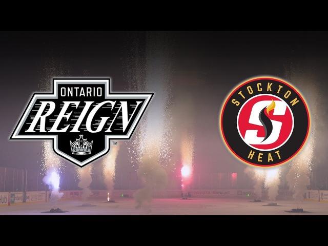 AHL Highlights (1/19/18) Stockton 2, Ontario 5