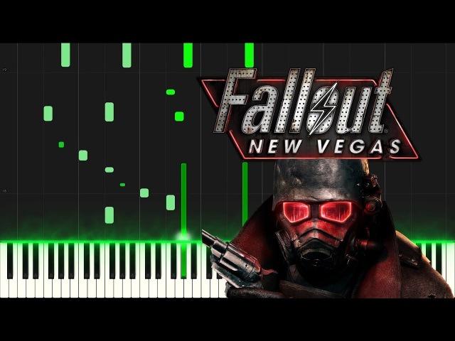 Fallout New Vegas Theme Piano Synthesia Tutorial