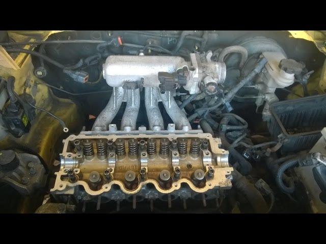 Hyundai Getz 1.3 12v Замена гидрокомпенсаторов и маслосъемных колпачков