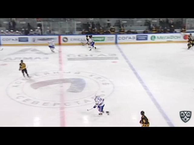Моменты из матчей КХЛ сезона 16 17 Гол 1 1 Голик Петр Северсталь в ближнюю девятку 08 09