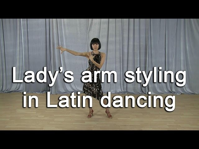 Arm Styling for ladies - Latin dance (Rumba)