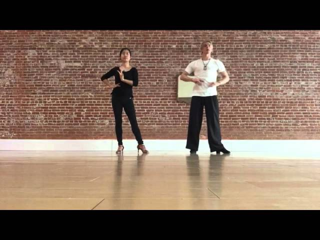 Basic arm styling for Ladies in Latin American dancing - exercise - by Oleg Astakhov