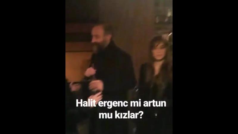 Халит Эргенч на гала-премьере Daha – 09.01.17✨