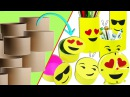 Ideas Emojis con Tubos de Cartón Reciclaje Ecobrisa