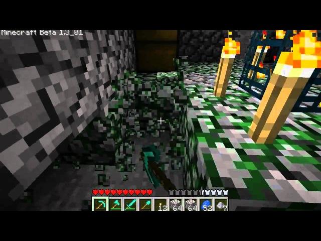 Дмитрий Дозкоз • MineCraft - BETA-цикл. 58 серия - Чудеса ландшафта