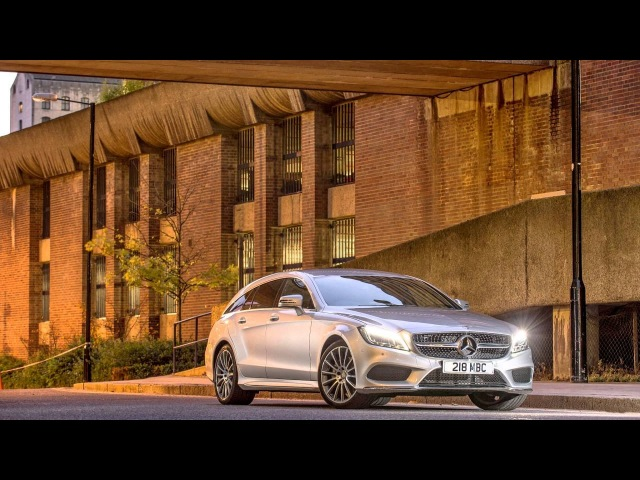 Mercedes Benz CLS 350 BlueTec Shooting Brake AMG Sport Package UK spec X218 2014–