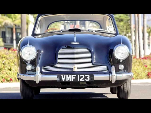Aston Martin DB2 Fixed Head Coupe Prototype by Mulliner LML515 '1953
