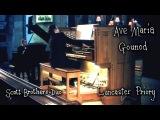 BachGounod - AVE MARIA (MEDITATION) - SCOTT BROTHERS DUO ( PIANO &amp ORGAN)