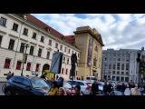 Wine Glass Street Music at Prague - Czech Republic
