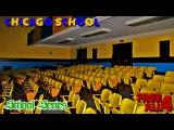 Chicago Blue Yellow Abandoned School Retro Auditorium!