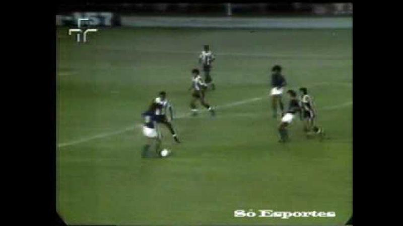 Cruzeiro 7 x 1 Alianza Lima Semifinal Libertadores 1976