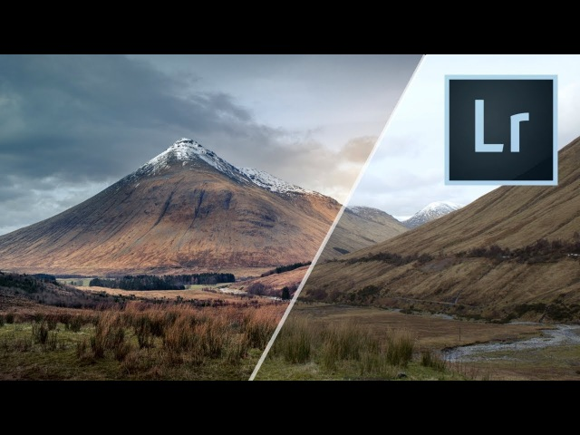 Get The Dramatic Look With Your Landscape Photos! - Here's How Using Lightroom
