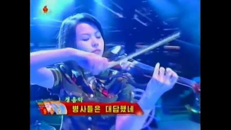 Moranbong Band music: Ответ солдат