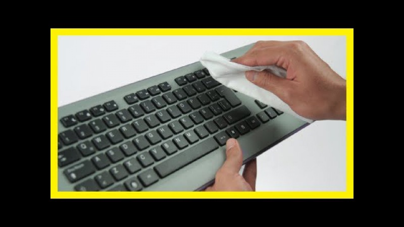 Cómo limpiar el teclado del ordenador sin dañarlo