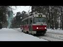 Трамвай Tatra T3 в Москве