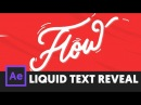 Smooth Text Reveal Effect After Effects Tutorial