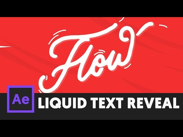 Smooth Text Reveal Effect - After Effects Tutorial