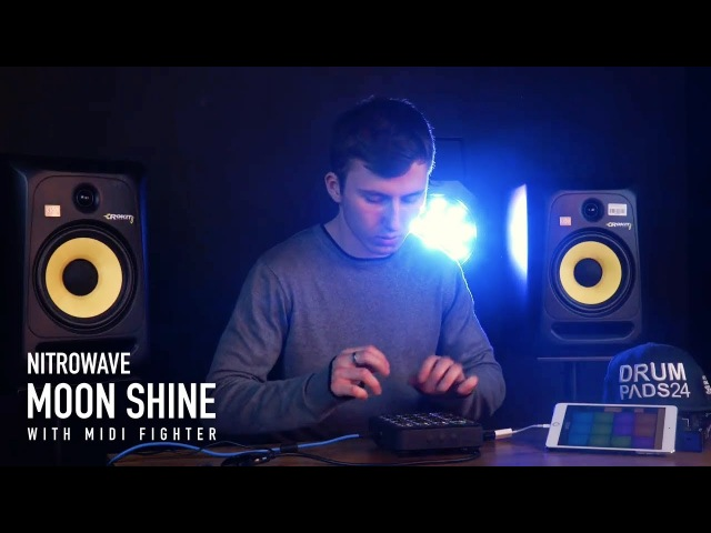NitroWave With Midi Fighter - Moon Shine Sound Pack