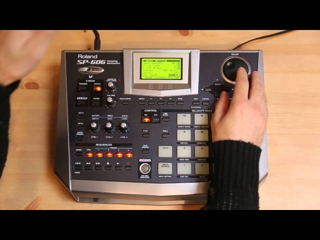 Roland Sp-606 Sampler Review and Walkthrough
