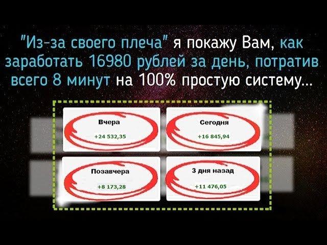 Запустить свою систему заработка в Интернет Тренинг от Дмитрия Чернышова