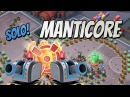 Boom Beach Manticore Solo with Deployable Turret and Bullit