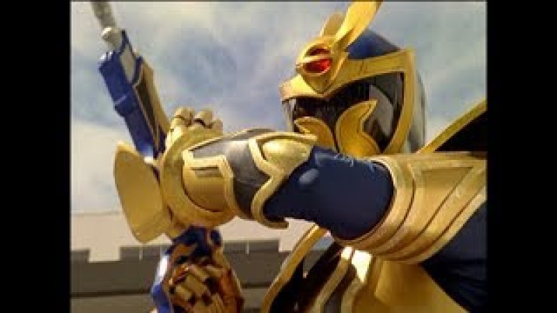 Solaris Knight First Morph and Fight | Power Rangers Mystic Force | Solar Eclipse