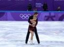 XXIII Зимние Олимпийские игры. Выступление фигуристов Евгения Тарасова и Владимир Морозов