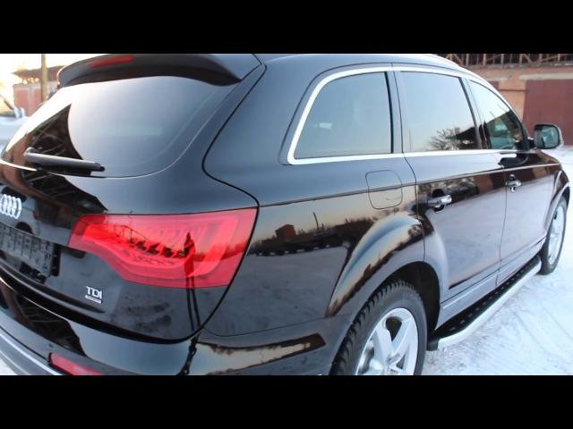 AUDI Q7 Восстановительная полировка кузовазащита от Everglass