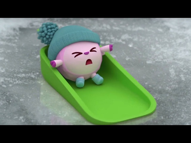 Малышарики Снег ❄️ серия 113 обучающие мультфильмы для малышей 0 4 про зиму