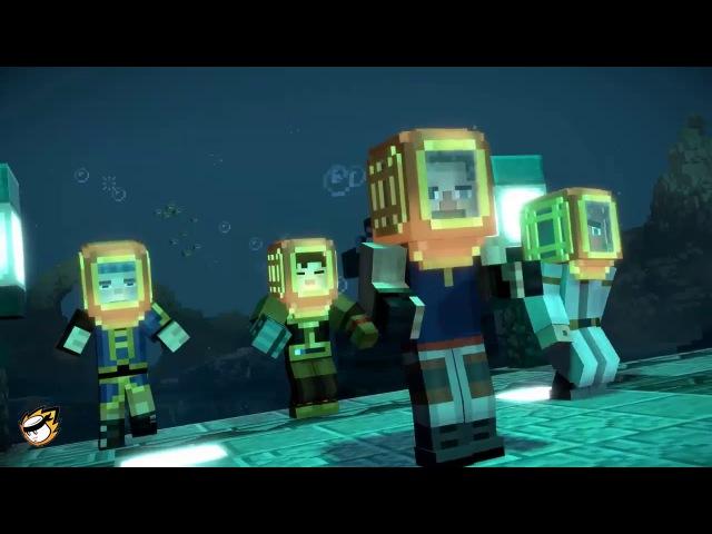 Лучшие 10 лучших игр в мире: Прохождение Minecraft: Подводный храм 1