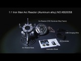 Killerbody 1:1 Iron Man Arc Reactor W/LED lighting Modes