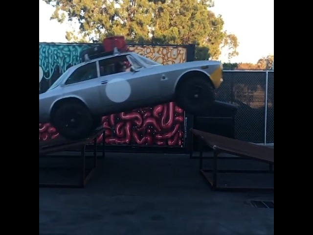 """Hoonigan Industries on Instagram: """"On today's episode of Daily Transmission, @dropped_alfa brings his unique 1974 Alfa Romeo GTV 2000, that has bee..."""