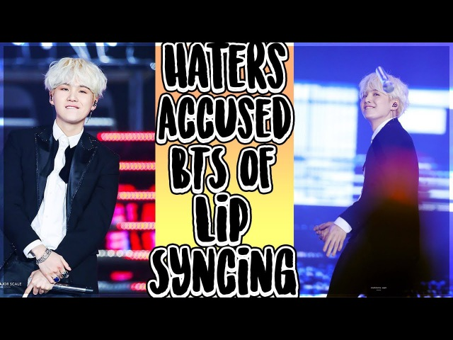 Suga stopped rapping to prove that BTS (방탄소년단 ) don't lipsync @ SBS Gayo Daejun Awards 2017