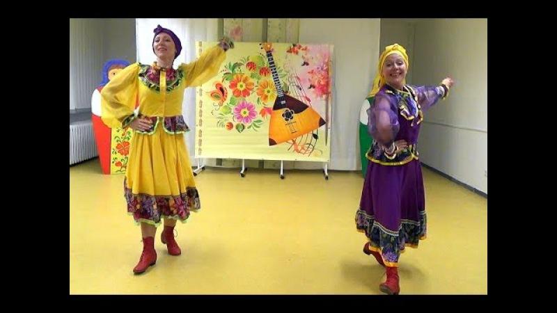 русский танец Кадриль- исп. танцгруппа Ивушка(г.Эрфурт)
