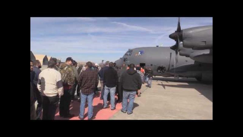AFSOC's Maj. Gen. Eugene Haase Visits the Warner Robins Air Logistics Complex