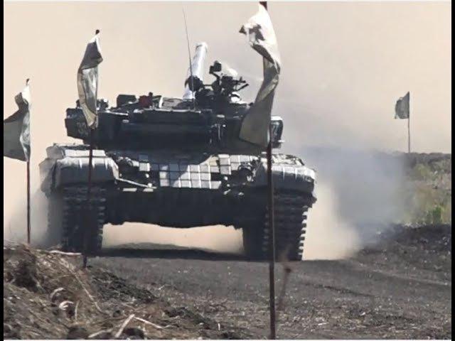 Служу Республике. Межреспубликанские состязания танковых экипажей. 23.09.17