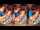 Big Brother Snuggles And Sings For Their Baby To Sleep | Best Babies Compilation