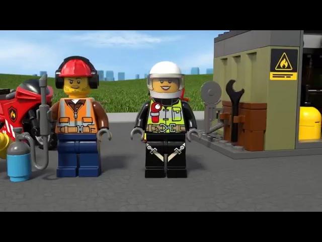 LEGO CITY | Пожарная команда быстрого реагирования | 60108