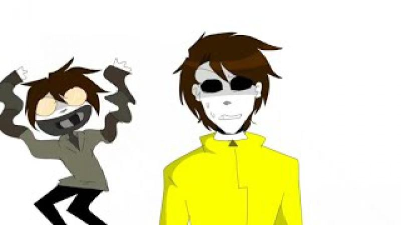 Тикки Тоби и Тим Маски|Курлык :D -прикол.