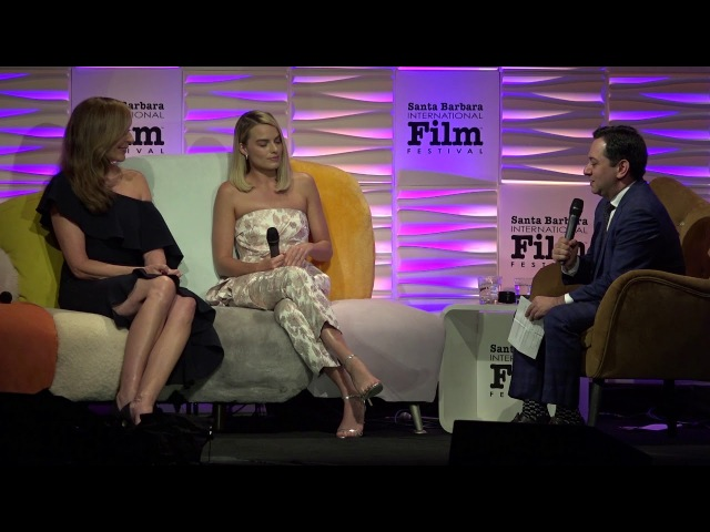 SBIFF 2018 Margot Robbie Discusses Her Move To LA Wolf Of Wall Street