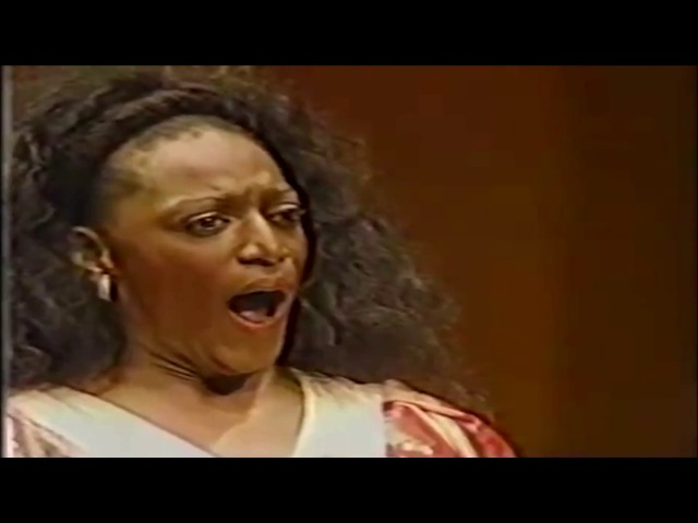 Jessye Norman - Mon Coeur s'Ouvre à Ta Voix from Opera Samson et Dalila (Camille Saint Saëns)
