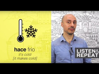 Learn Spanish: (21) The weather and the climate in Spanish