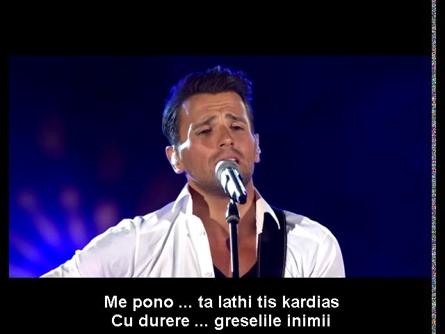 NIKOS VERTIS ♥ S' Eroteftika / M-am îndrãgostit ♥ subtitrare dublã GReekROmanian