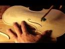 Keman Yapım Aşamaları - The Process of Violin Making